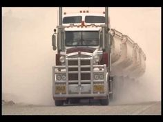 The biggest, longest trucks in the world Road trains in the Australian Outback - YouTube
