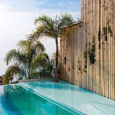 Un couloir de nage exotique