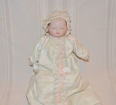 Vintage New Born Baby Doll  11 Inch Doll with by PhotosbyMarilyn