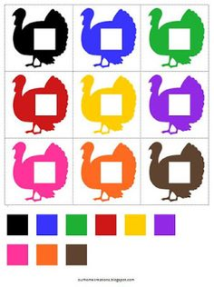 Since Thanksgiving is just a few weeks away, we have started to doing our Thanksgiving preschool activities. We are starting with T is for T. Preschool Learning Activities, Preschool Curriculum, Free Preschool, Color Activities, Preschool Activities, Kids Learning, Teaching Resources, Shape Worksheets For Preschool, Fun Worksheets