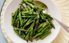 Sauteed Asparagus with Olives and Basil Recipe by Food Network Kitchens