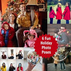 6 Great Ideas for Holiday Photo Poses #Spon
