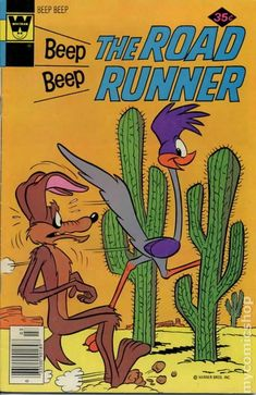 Beep Beep The Road Runner Whitman) comic books Vintage Disney Posters, Vintage Comic Books, Vintage Cartoon, Vintage Comics, Posters Decor, Room Posters, Poster Wall, Poster Prints, Retro Wallpaper