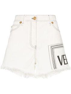 79f50fbecf19 Versace Shorts Denim Con Stampa