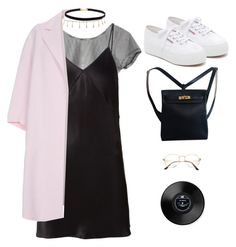 """Untitled #1041"" by greciapaola ❤ liked on Polyvore featuring Fleur du Mal, Paul Smith, Superga, Luv Aj and Hermès"