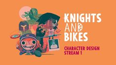 KnightsAndBikes - Character Design Stream 1 Ps4, Playstation, Frame By Frame Animation, Knight, Character Design, Movie Posters, Film Poster, Knights, Cavalier