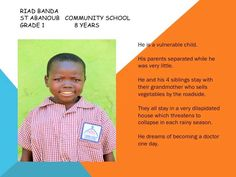 Please consider sponsoring a child at www.meant2live.org by clicking DONATE. #Meant2Live #OZProject #education #givingback #zambia