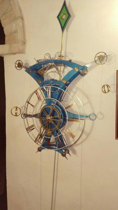 Grasshopper mechanical clock