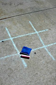 Gross Motor Tic Tac Toe Games - Simple twists on the classic game.  Fun for all ages!