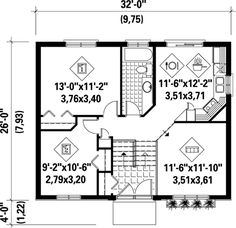 Contemporary House Plan 49271 Level One