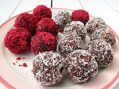 Vegan Gluten-free Refined Sugar-Free Bliss Balls Energy Recipe