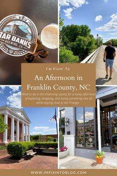 NC Blogger I'm Fixin' To shares how to spent an afternoon exploring Franklin County, NC including where to shop or grab a drink.
