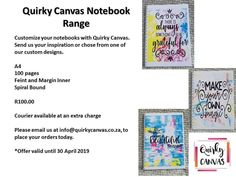 Custom Notebooks, Custom Design, Stationery, Bullet Journal, Canvas Prints, Inspiration, Biblical Inspiration, Paper Mill, Photo Canvas Prints