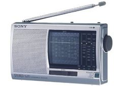 Sony ICF-SW11 FM Stereo / SW1-9 / MW / LW 12-Band World Receiver by Sony. $79.00. Tuner •  Digital tuner : NO •  Analogue tuner : YES •  Antenna AM : Ferrite •  Antenna FM : Telescopic •  FM (MHz) : 87.5-108 •  MW (kHz) : 525-1620 •  LW (kHz) : 141-290 •  SW (MHz) : x9/4.75-21.75 •  Easy preset system : NO •  Direct access buttons : 0.0 •  Presets : 0.0 •  Single side band : NO •  Manual tuning : YES •  Direct tuning : NO •  Scan tuning : NO