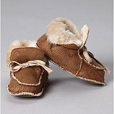 Cozy White Fur Winter Booties