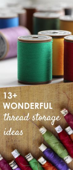 thread storage | thread organizer | thread storage box | thread storage ideas |