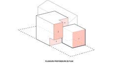 Projet : Axonométrie_ Plusieurs profondeurs de plan Nintendo Games, Cos, Architecture, Home, Arquitetura, Architecture Design
