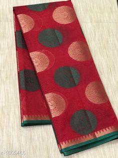 Sarees Stylish Banarasi Cotton Silk Zari Work Saree  *Fabric* Saree - Banarasi Cotton Silk.  *Size* Saree Length - 5.50 Mtr.  *Work* Zari Work  *Sizes Available* Free Size *   Catalog Rating: ★4.1 (1679)  Catalog Name: Vanya Zari Woven Banarasi Cotton Silk Sarees CatalogID_121281 C74-SC1004 Code: 717-1009460-