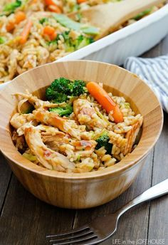 Teriyaki Chicken Casserole - Easy to modify for cleaner eating...  Want to know how this fits into your healthy lifestyle? Visit www.facebook.com/richelle.zirkle or fit2btiedlife.com so we can connect! ♥