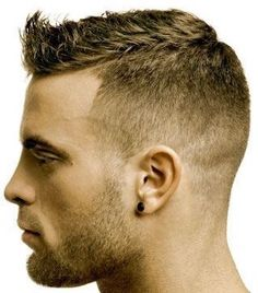 : A Shorter Version of The Faux Hawk. Parted with Fad… Sponsored Sponsored Fashionable Mens Haircuts. : A Shorter Version of The Faux Hawk. Cute Hairstyles For Kids, Boy Hairstyles, Haircuts For Men, Trendy Hairstyles, Fashionable Haircuts, Men's Haircuts, Hairstyle Short, Medium Hairstyles, Straight Hairstyles