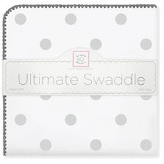 SwaddleDesigns® Ultimate Swaddle - Cute as a Button Baby Boutique