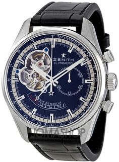 Zenith Chronomaster Open Power Reserve Blue Dial Automatic Mens Watch 032080402121C496 $5,692.50