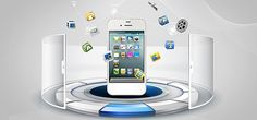 mobile internet technology background