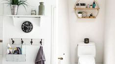 A young homeowner achieved his own take on the Scandinavian style with a monochromatic palette, big pieces of furniture, and built-in storage pieces Condo Interior Design, Condo Design, Color Interior, House Design, Studio Type Condo Ideas Small Spaces, Small Condo Decorating, Condominium Interior, Multipurpose Furniture, Home And Family