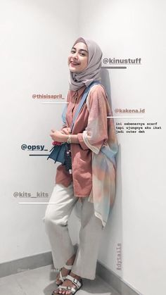 Casual Hijab Outfit, Ootd Hijab, Casual Outfits, Girl Hijab, Kpop Fashion Outfits, Girly Outfits, Modest Outfits, Best Online Clothing Stores, Online Shopping Clothes