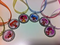 Lalaloopsy Bottlecap Necklace by MissJenG on Etsy, $3.00