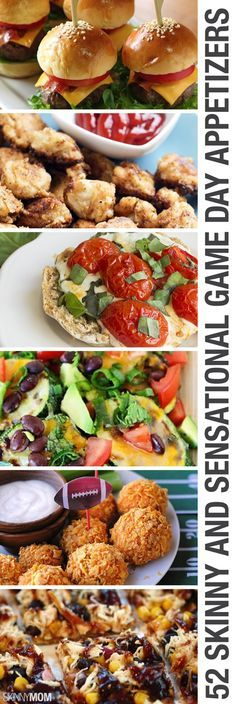 Healthy snacks and appetizer recipes for the Super Bowl!