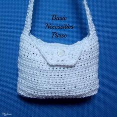 Basic Necessities Purse  Crochet Pattern