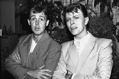 Paul McCartney offered some words on fellow music icon David Bowie this morning.