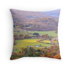 """""""Tennessee Country 2"""" Throw Pillows by MaryTimman 