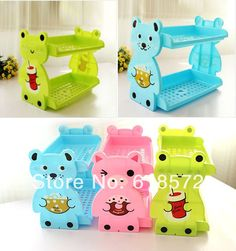 Aliexpress.com : Buy New 2014 DIY collapsible kawaii cartoon frog Rilakkuma desk office two layers shelves organizer storage shelf home decor rack from Reliable rack mount air conditioning suppliers on The  Pocket of Doraemon