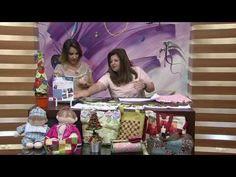 Árvore de Natal e Pano de Prato Vivi Prado 1/2 - Programa Mulher.com (18/10/2013) - YouTube
