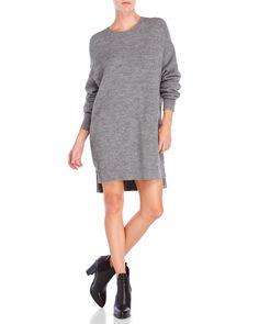 Dkny Side Zip Pullover Dress