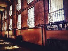 Alcatraz Prison San Francisco California | View from Corner Cells at Alcatraz Prison, San Francisco, California
