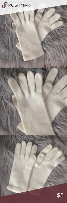 NWOT | New York & Company Gloves OS - New without tag. - Soft winter gloves. - One size. - Brand: New York & Company. - Color: White.  • Free gift with any purchase & 15% off all bundles. NO trades. • New York & Company Accessories Gloves & Mittens