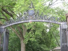 Main gate to Old Queens--the original Rutgers College campus
