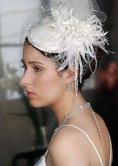 Erica Koesler Bridal Hat H-5007