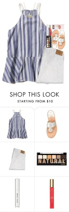 """meeting the teacher!"" by hmcdaniel01 ❤ liked on Polyvore featuring Hollister Co., Jack Rogers, Abercrombie & Fitch, NYX, Bobbi Brown Cosmetics, Kate Spade, Kendra Scott and katesbtsb2k16"