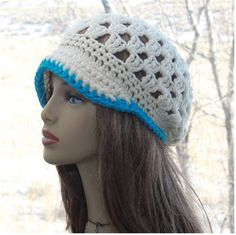 Check out this item in my Etsy shop https://www.etsy.com/listing/508163063/womens-hat-hand-crochet-hat-womens