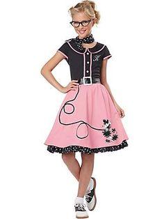 GIRL'S 50'S SWEETHEART COSTUME - Idea for Brooke's 2013 Halloween Costume