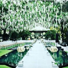 A beautiful runway for brides