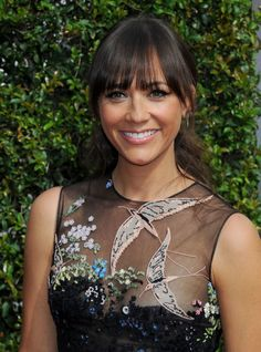 Rashida Jones looked cute on the red carpet at the 2015 Creative Arts Emmy Awards in a Valentino Resort 2016 Embroidered Sequin Illusion Dress. Description from teewhy-hive.blogspot.com. I searched for this on bing.com/images