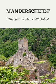 Eine kleine Zeitreise in die Eifel. Die Eifel, Travel, Knight Games, Time Travel, Places, Germany, Viajes, Destinations, Traveling