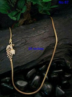 Gold Jewelry for any purpose Gold Chain Design, Gold Jewellery Design, Mangalore, Gold Earrings Designs, Necklace Designs, Peacock Jewelry, Gold Jewelry Simple, India Jewelry, Jewelry Collection