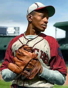 Art print POSTER Canvas Satchel Paige Sitting in Easy Chair in Bullpen