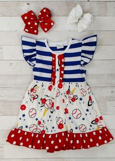 Cute Girl's Boutique Clothing (Wholesale Children's Boutique) Toddler Boutique Clothing, Wholesale Children's Boutique Clothing, Girls Boutique, Baseball Dress, Cut Out Leggings, Denim Overall Dress, Cute Girl Outfits, Toddler Dress, Cute Girls